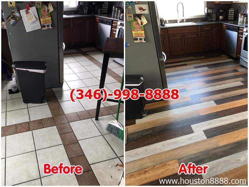 Hình ảnh lót sàn gỗ remodeling nhà và cơ sở thương mại Houston