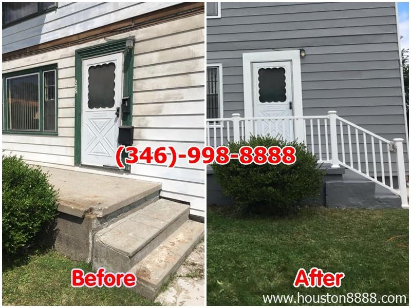 Dịch vụ remodeling nhà ở Houston: sơn trong, ngoài nhà, làm cầu thang, hành lang