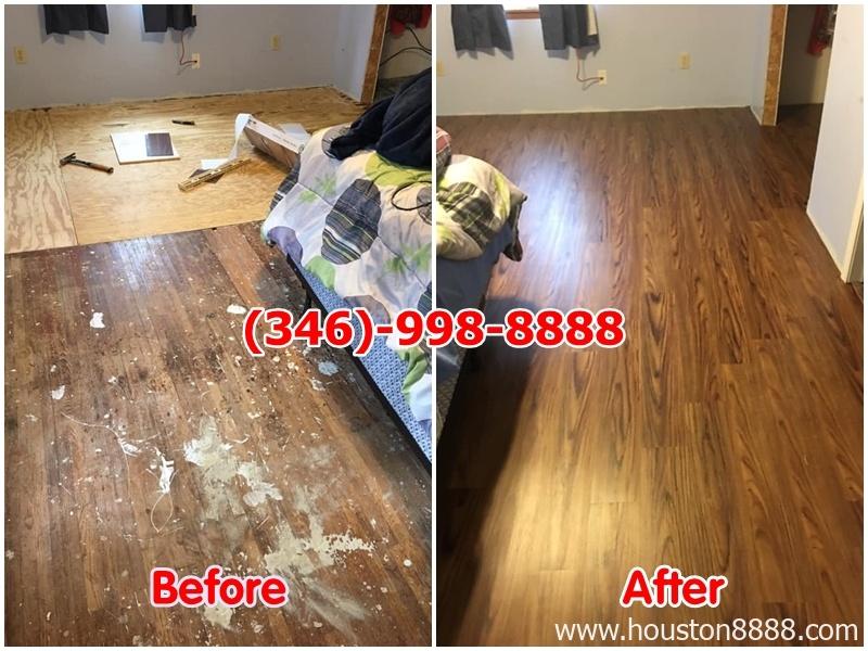 Hình ảnh lót sàn gỗ Remodeling nhà, Remodeling cơ sở thương mại ở Houston